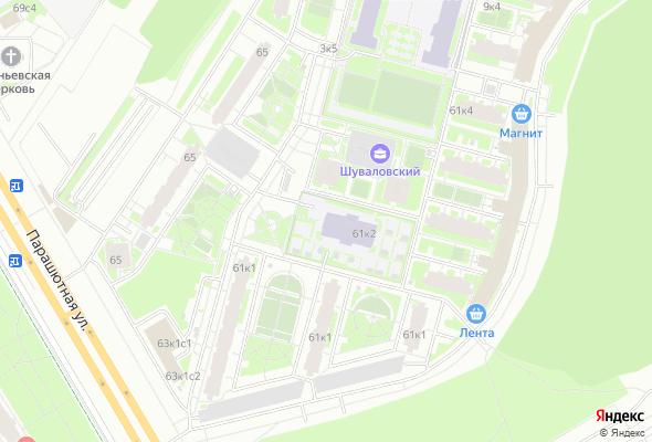 купить квартиру в ЖК Шуваловский