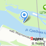 Север на карте Санкт-Петербурга