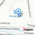 Автошкола №1 на карте Санкт-Петербурга