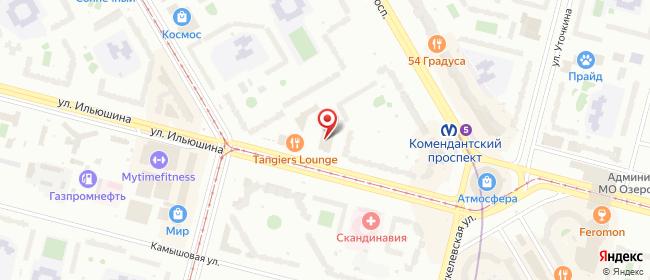 Карта расположения пункта доставки Пункт выдачи заказов Забери-Товар в городе Санкт-Петербург