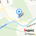 Нканак на карте Санкт-Петербурга