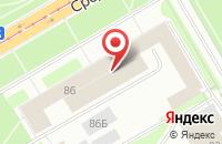 Схема проезда до компании Профессия в Санкт-Петербурге