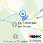 Воскресенская церковь на карте Санкт-Петербурга