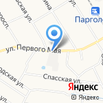 Магазин по продаже разливного пива на карте Санкт-Петербурга