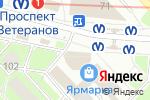 Схема проезда до компании Магазин табачной продукции в Санкт-Петербурге