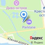 Оранжерея на карте Санкт-Петербурга