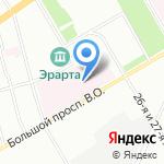 Городская Покровская больница на карте Санкт-Петербурга
