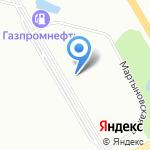 Студия причесок на карте Санкт-Петербурга