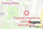 Схема проезда до компании Веста-IV, ТСЖ в Санкт-Петербурге