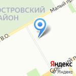 NordEst на карте Санкт-Петербурга