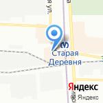Афганвет на карте Санкт-Петербурга