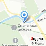 Трапезная на карте Санкт-Петербурга