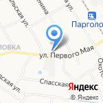 Форт на карте Санкт-Петербурга