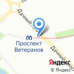 Эст на карте Санкт-Петербурга