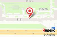 Схема проезда до компании Концепт в Санкт-Петербурге