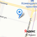 Будь здоров! на карте Санкт-Петербурга