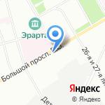 Шекспирбург на карте Санкт-Петербурга