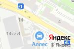 Схема проезда до компании Авторитет в Санкт-Петербурге