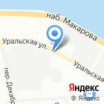 Магазин автозапчастей для Daewoo на карте Санкт-Петербурга