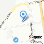Пульсар на карте Санкт-Петербурга
