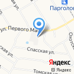 ОТАКС групп на карте Санкт-Петербурга