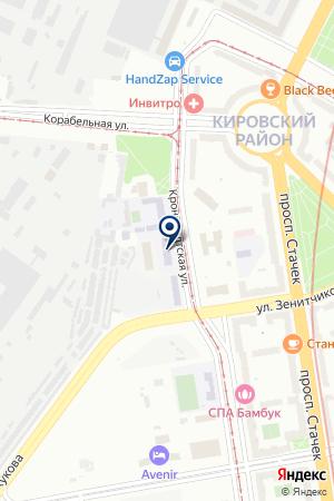 АВТОМАСТЕРСКАЯ ЛЕОНТЬЕВ на карте Кронштадта