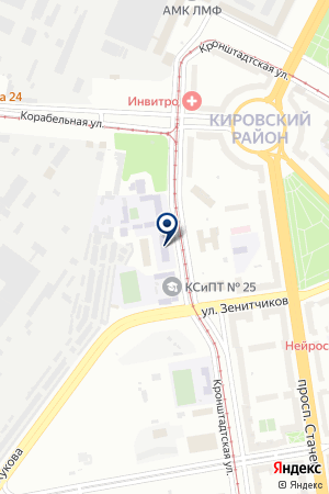 ТСЦ МС-АВТО на карте Кронштадта