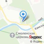 Армяно-григорианское кладбище на карте Санкт-Петербурга