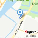 ЛенСтальКанат на карте Санкт-Петербурга