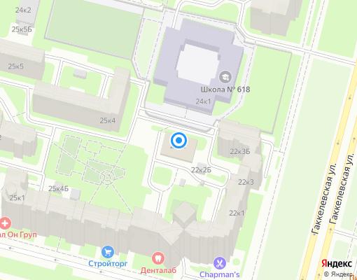 Управляющая компания «ЖКС №1 Приморского района» на карте Санкт-Петербурга