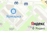 Схема проезда до компании Лотереи Северной Столицы в Санкт-Петербурге
