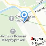 Вип-системы Северо-Запад на карте Санкт-Петербурга