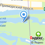 Нота на карте Санкт-Петербурга