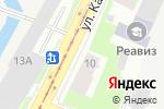 Схема проезда до компании Атлантида в Санкт-Петербурге