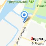 КЕММИКС на карте Санкт-Петербурга