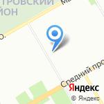 Opel на карте Санкт-Петербурга