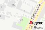 Схема проезда до компании ЛАРТА в Санкт-Петербурге
