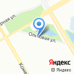 Пантера на карте Санкт-Петербурга