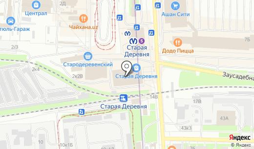 Котофото. Схема проезда в Санкт-Петербурге