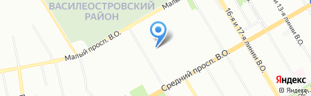 РСО Промальп на карте Санкт-Петербурга