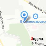 Дайвтехносервис на карте Санкт-Петербурга