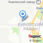 МЕДРЫБПРОМ на карте Санкт-Петербурга
