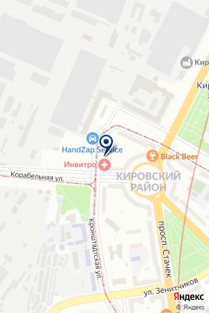 НЕЗАВИСИМАЯ ЛАБОРАТОРИЯ ИНВИТРО (INVITRO) на карте Кронштадта