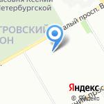 Гранул на карте Санкт-Петербурга