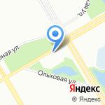 Храм Архистратига Божия Михаила и прочих Небесных Сил бесплотных на карте Санкт-Петербурга