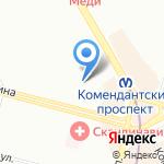 Автотранс на карте Санкт-Петербурга
