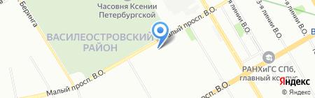 Климатком Петербург на карте Санкт-Петербурга