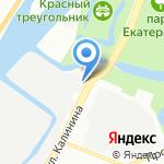 СтанкоЦентр АВАНГАРД на карте Санкт-Петербурга