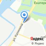 Экономные перевозки на карте Санкт-Петербурга