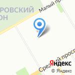 Циркон С на карте Санкт-Петербурга
